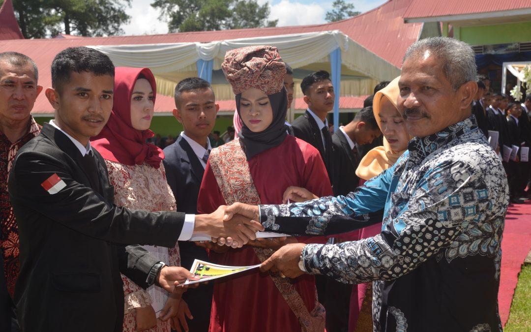 Pembagian Serifikat IB Siswa SMK PPN Padang Mengatas