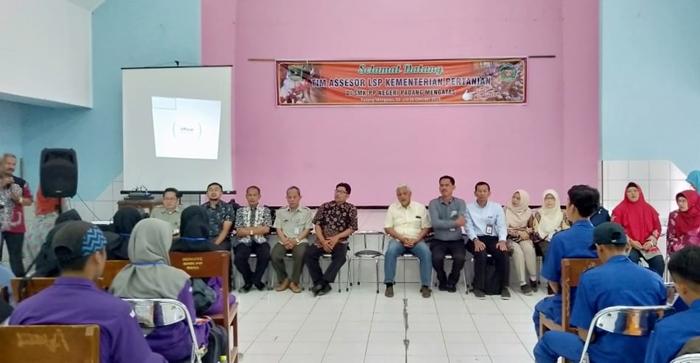 Alhamdulillah, Banyak Siswa SMK PP Negeri Padang Mengatas Lulus Uji Kompetensi